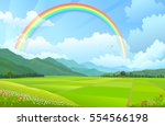 Rainbow Over The Mountains ...