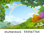 colors of nature | Shutterstock .eps vector #554567764