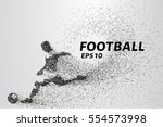 football of the particles....
