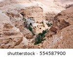 orthodox monastery of st..... | Shutterstock . vector #554587900