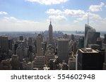 new york city  ny  a classic... | Shutterstock . vector #554602948