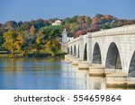 washington dc in autumn  ... | Shutterstock . vector #554659864