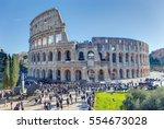 rome  italy   december 30  2016 ... | Shutterstock . vector #554673028