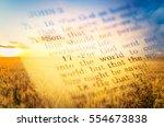 bible. | Shutterstock . vector #554673838