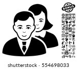 people icon with bonus business ... | Shutterstock .eps vector #554698033