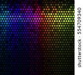 multicolor abstract lights...   Shutterstock . vector #554709340