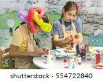 oludeniz  turkey  april 28 ... | Shutterstock . vector #554722840