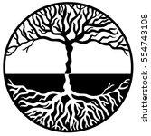 tree of life vector | Shutterstock .eps vector #554743108