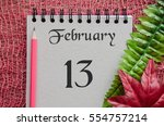 February 13 Date  Vintage...