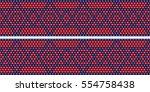 trendy  modern ethnic  beaded ... | Shutterstock .eps vector #554758438