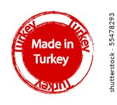 made in turkey   Shutterstock .eps vector #55478293