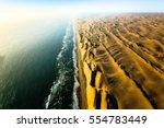 skeleton coast   namib desert   ... | Shutterstock . vector #554783449