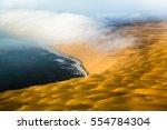 skeleton coast   namib desert ... | Shutterstock . vector #554784304