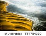 skeleton coast   namib desert ... | Shutterstock . vector #554784310