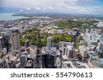 Small photo of View from the Sky tower in Auckland, New Zealand, Oktober 14th, 2016