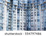 high rise apartments  | Shutterstock . vector #554797486