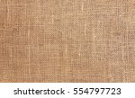 rustic jute sackcloth fabric as ... | Shutterstock . vector #554797723