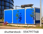 diesel electric generator used... | Shutterstock . vector #554797768