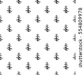 Pine Tree Pattern. Simple...