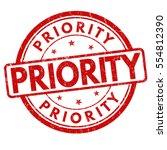 priority grunge rubber stamp on ...   Shutterstock .eps vector #554812390