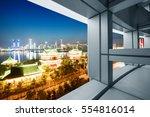 a bird's eye view of the city... | Shutterstock . vector #554816014