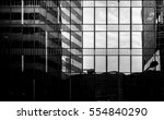 office buildings stretch up to... | Shutterstock . vector #554840290