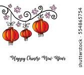 vector illustration of happy... | Shutterstock .eps vector #554865754