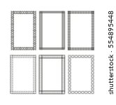 the frame  border. for the... | Shutterstock .eps vector #554895448