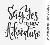 travel life style inspiration... | Shutterstock .eps vector #554906038