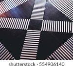 zebra pedestrian crossing in... | Shutterstock . vector #554906140