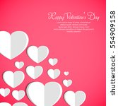 vector illustration.valentine's ...   Shutterstock .eps vector #554909158