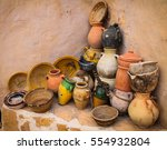 Pottery In Chenini Village ...