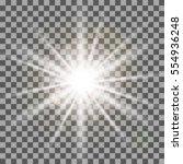 white rays light effect... | Shutterstock .eps vector #554936248