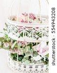 romantic bouquet | Shutterstock . vector #554943208