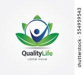 Quality Life Healthcare Logo Sign Symbol Icon
