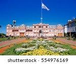 casa rosada in buenos aires | Shutterstock . vector #554976169