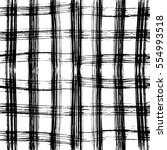 seamless black and white...   Shutterstock .eps vector #554993518