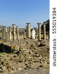 Small photo of Ruins of Baleo Claudia, Roman town, Bolonia, Cadiz, Spain