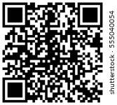 simple qr code bar template for ... | Shutterstock .eps vector #555040054