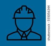 engineer icon flat design
