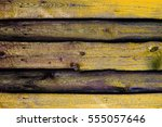 texture of old wooden fence... | Shutterstock . vector #555057646