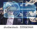 business  technology  internet... | Shutterstock . vector #555065464