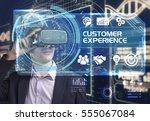business  technology  internet... | Shutterstock . vector #555067084