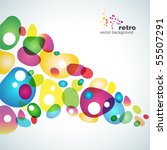 abstract colorful vector... | Shutterstock .eps vector #55507291