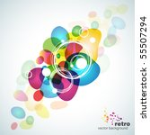 abstract colorful vector... | Shutterstock .eps vector #55507294
