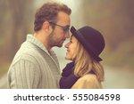couple in love. | Shutterstock . vector #555084598