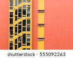 Colorful Building Windows