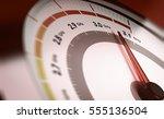 conceptual 3d illustration of a ... | Shutterstock . vector #555136504
