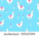 seamless vector pattern ... | Shutterstock .eps vector #555137599