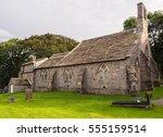 st peters church  heysham... | Shutterstock . vector #555159514